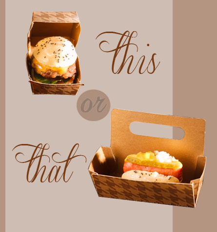 This or That – Mini Burger vs. Mini Hot Dog