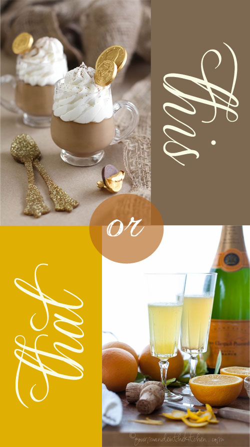 This or That – Irish Coffee vs. Mimosa